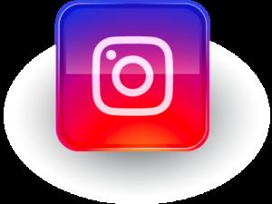 Logo instagram pour le nouveau compte de DImitri